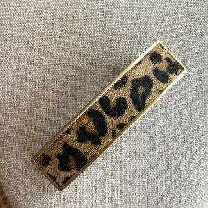 Cheetah hair clip